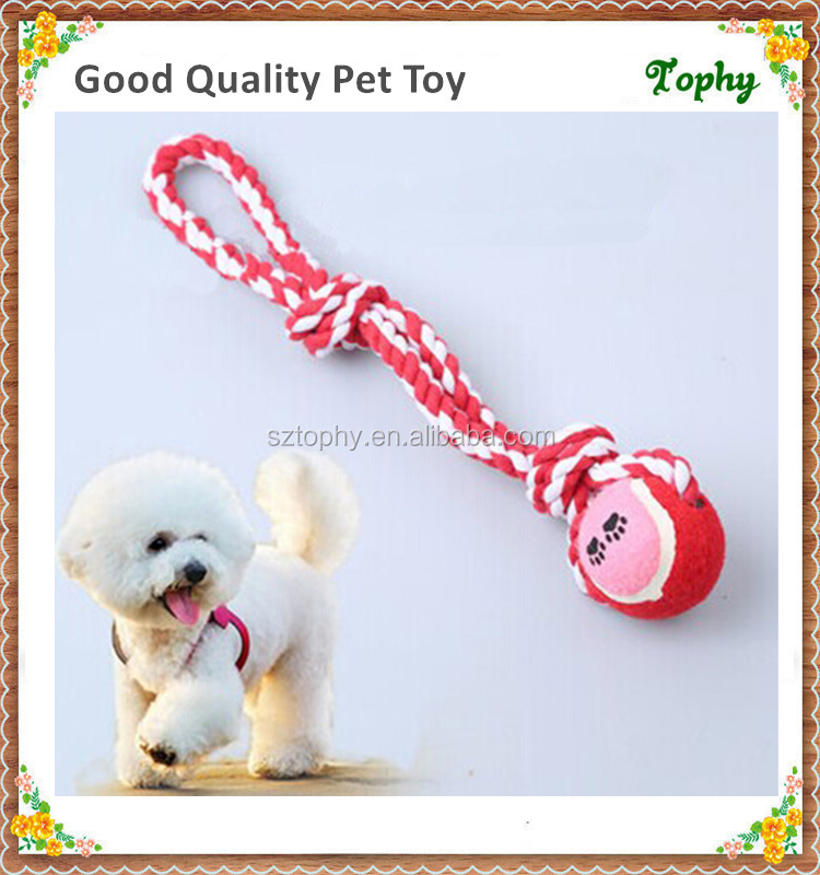 Dog Toys Creative Hot Sell Dog Toy With Rope For Interactive Play Best For Puppies Cotton Rope Plush Pet Toy Orders Are Welcome.