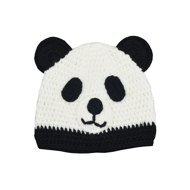 Panda Muster Stricken Und Häkeln Kinder Hut Fabrik Aus China - Buy ...