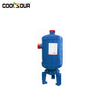 Oil separator and air cyclone separator for refrigeration system