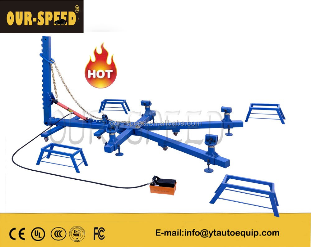 OUR-SPEED high quality i beam car body repair frame machine OS-700 dent puller