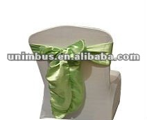 satin chair sashes bows ties,wedding decorations