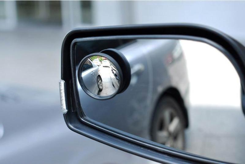 1 пара росту заднего посмотреть выпуклое зеркало широкоугольный сектор регулируемый авто слепое пятно зеркало черный бесплатная доставка