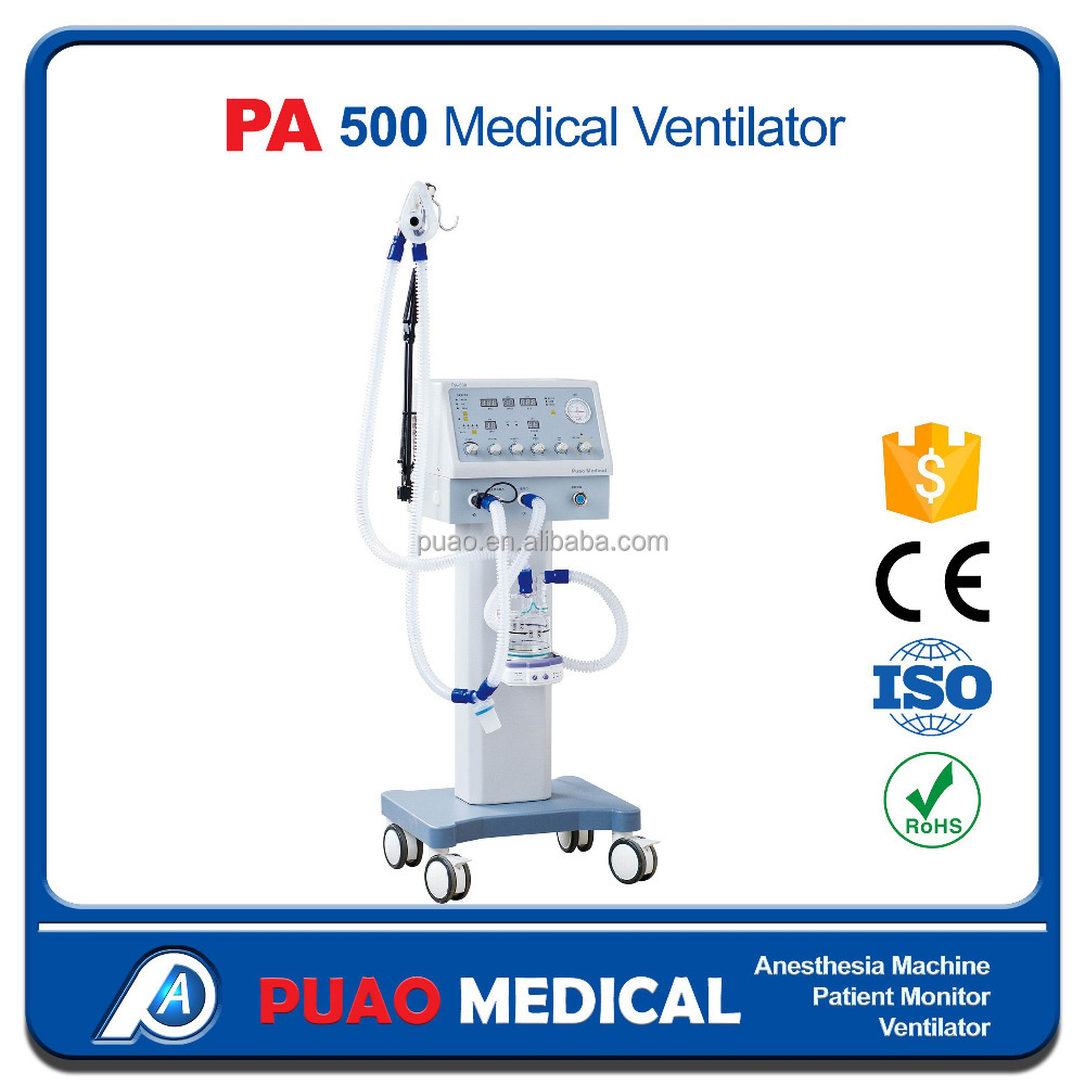 PA-500 Medical Auto Ventilator APAP Machine neonatal ventilator