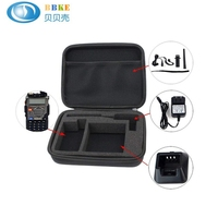 Portable Hard Carrying Travel Storage Case Bag Handbag for Baofeng Midland Motorola CB/Two Way radios
