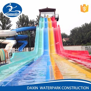 Daxin China Product Fiberglass Water Slide Tubes For Sale Water Slide Material South Africa