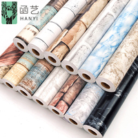 Factory supply 3d wall paper rolls home decoration brick stone designs pvc self adhesive wallpaper