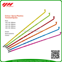 High quality color bicycle spokes