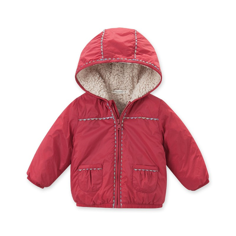 53725d7d4574 Db4267 Dave Bella Baby Girls Red Coat Boutique Clothes Fancy Coat ...
