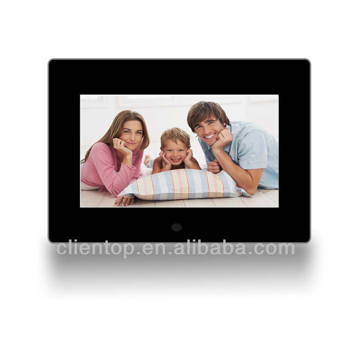 "Multifunction 7""Digital Photo Frame Resolution480*800 tft lcd display advertising monitor signage"