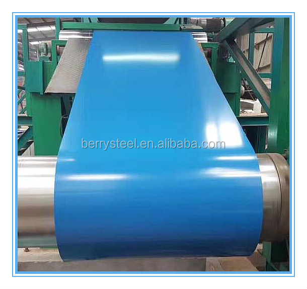 wrinkle/matt color coated gi/galvalume steel coil secondary in stock ppgi steel sheet/strip full hard g550