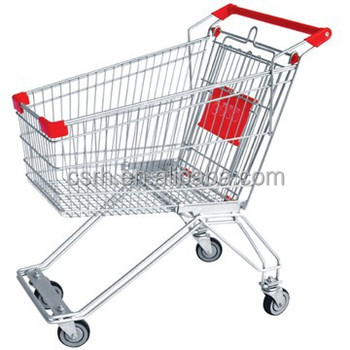 RH-SR060 60L Supermarket Trolley for Russia Shopping Cart