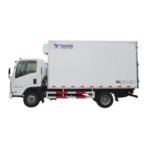Yueda 10 ton refrigerated cooling van for sale refrigerated freezer cargo van refrigerated freezer truck