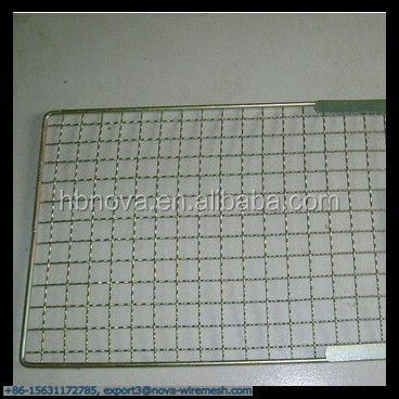 36*43 cm Rectangle Shape Squares Holes Grilling Barbecue Wire <strong>Mesh</strong> (Gold Supplier / China manufacturer)