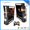 Quality promotional decal sticker for xbox360 slim skin