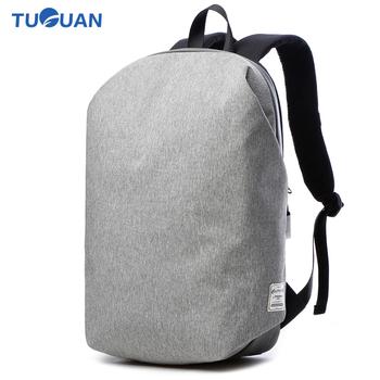 33e510950039 Tuguan Men Women Laptop Notebook Backpacks Brand Backpack Casual School College  Student Bag External USB Charge