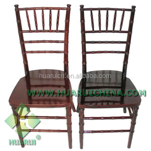 Wedding and Event Chairs Wholesale Fancy Wood Stacking chiavari chair for various venues