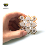 9 Bearing Gear Brass Linkage Tri-Spinner Fidget Spin Hand Toy