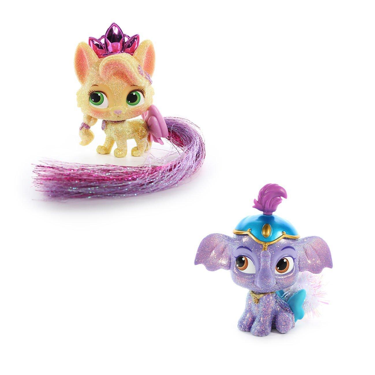 Disney Princess Palace Pets - Glitzy Glitter Friends - Taj & Summer Bundle
