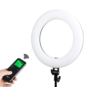Good VL-600T Wireless remote 3200-5600k 18 inch photography makeup video camera dslr led ring light for camera