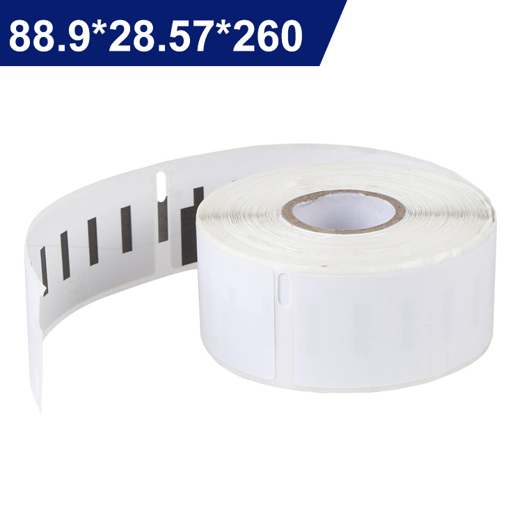 Adhesive Sticker Accept Compatible Dymo Labels 99010(130 label Per Roll) dymo 99010, thermal labels