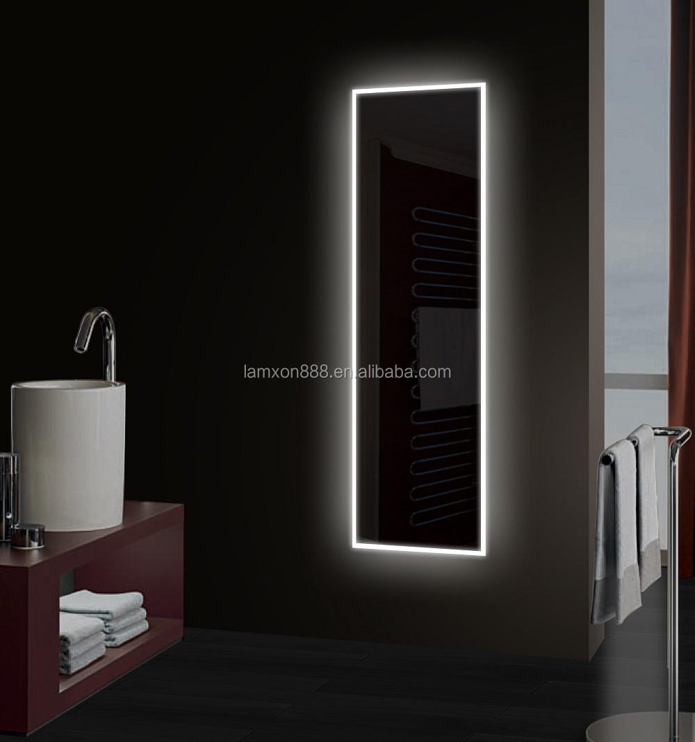 Led Dressing Mirror For Cloakroom High Quality Full Length Miror With Lights