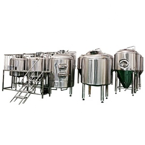 Beer Brewing Equipment Micro Brewery Plant Mini Brewery System 3000l 5000L 2000L 1000L
