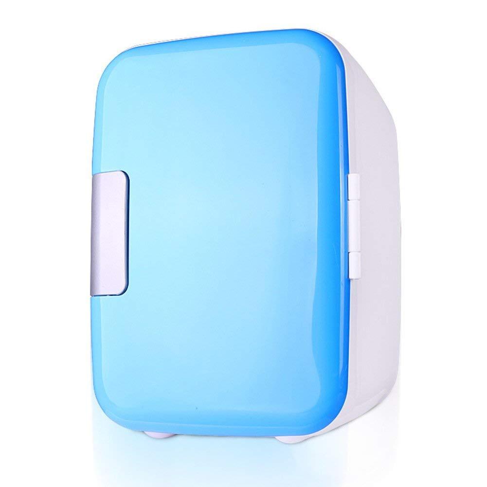 SL&BX Mini fridge,Car-refrigeratorsmini car mini fridge 25 home warm car refrigerator stainless look kühlteil-Blue 17x23x25cm(7x9x10inch)