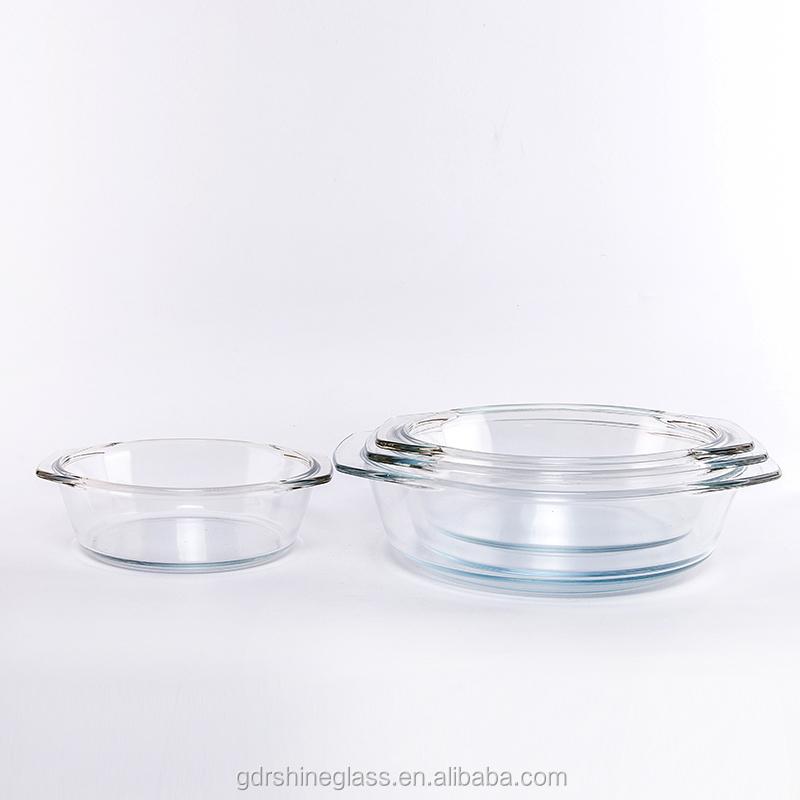 Hoge kwaliteit glas servies magnetron bakblik for Hittebestendig glas