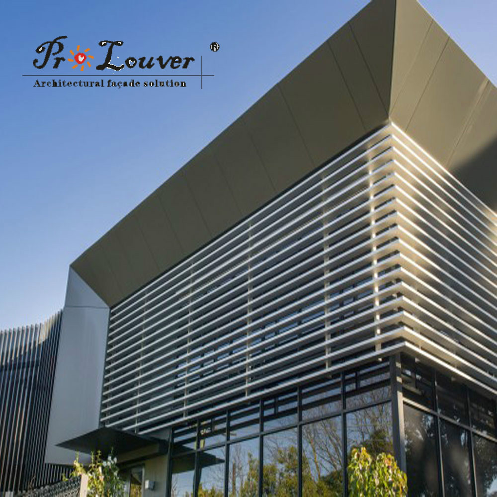 Curtain Wall Louvers : Architectural curved louver buy vertical aluminum