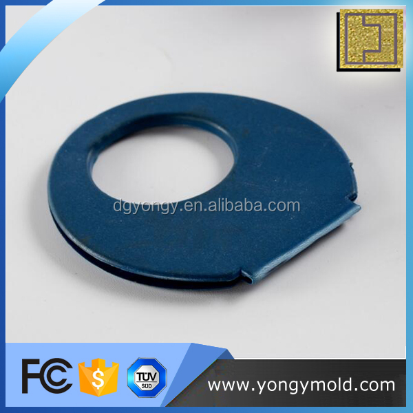 Custom high quality PP blue round fan handle plastic products