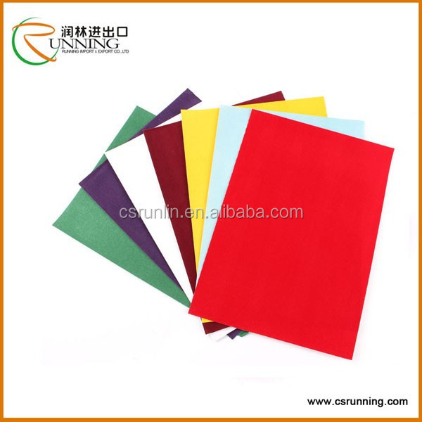A4 Size Wholesale Flocking Paper Craft Paper From Professional China