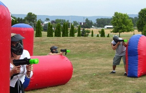 inflatable paintball bunkers, inflatable bunkers paintball for CS game