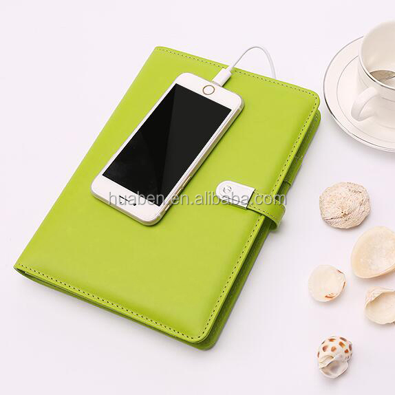 Customize new function notebook with USB and power bank