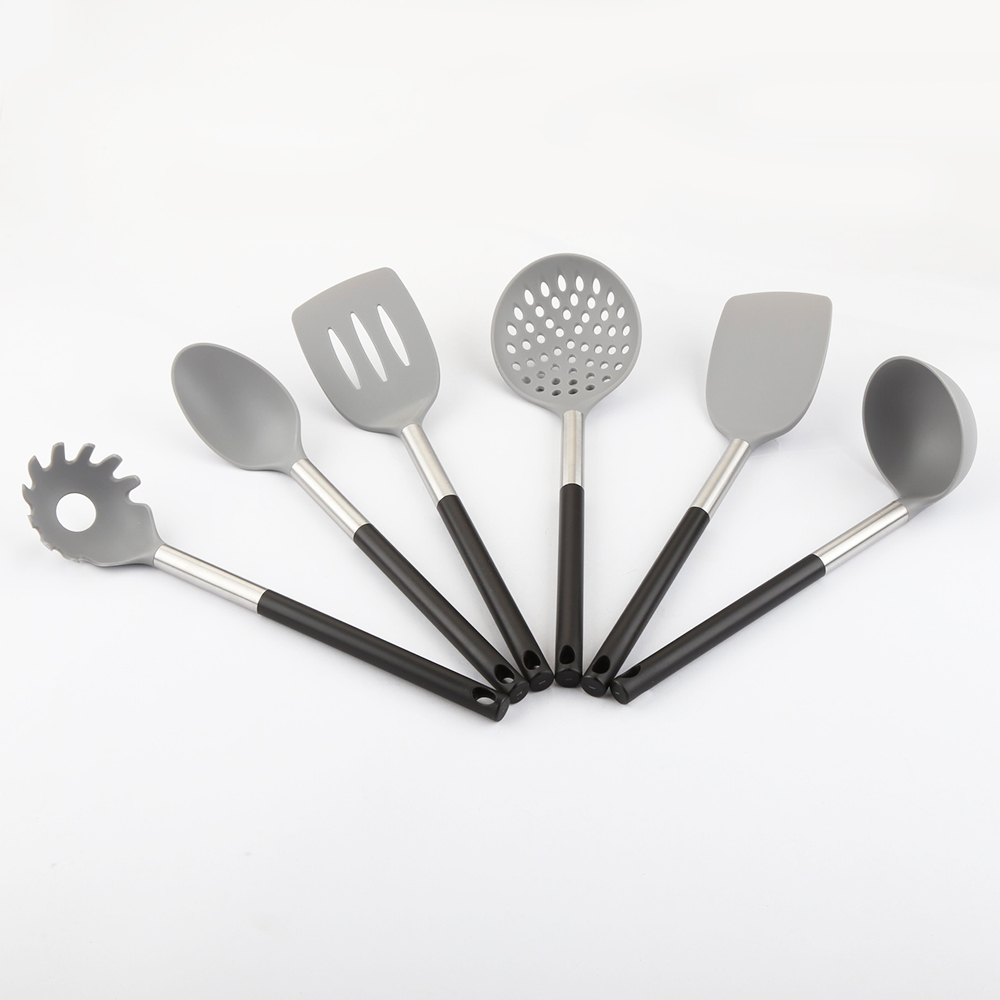 6 Piece Nylon Kitchen Utensils Set Cooking Tools with PP handle