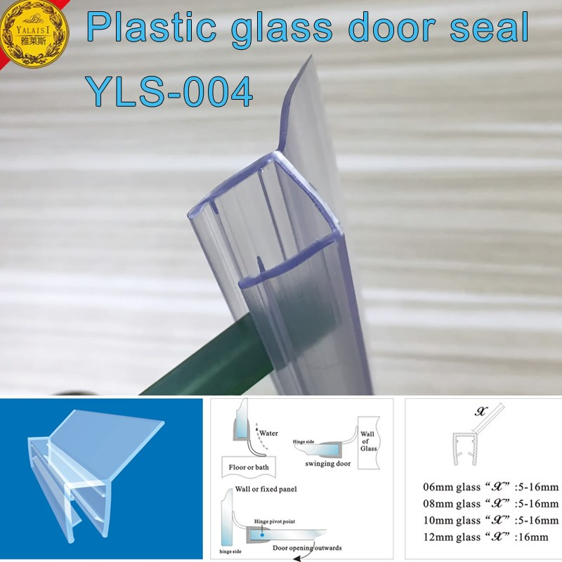 Eco friendly frameless shower door seal with translucent vinyl eco friendly frameless shower door seal with translucent vinyl edge for 38 planetlyrics Images