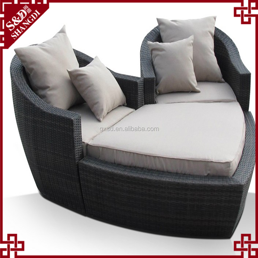 Floating lover seat slumber bed lounger