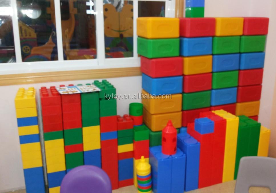 Plastic Circle Toys Magnetic Building Blocks For Kids