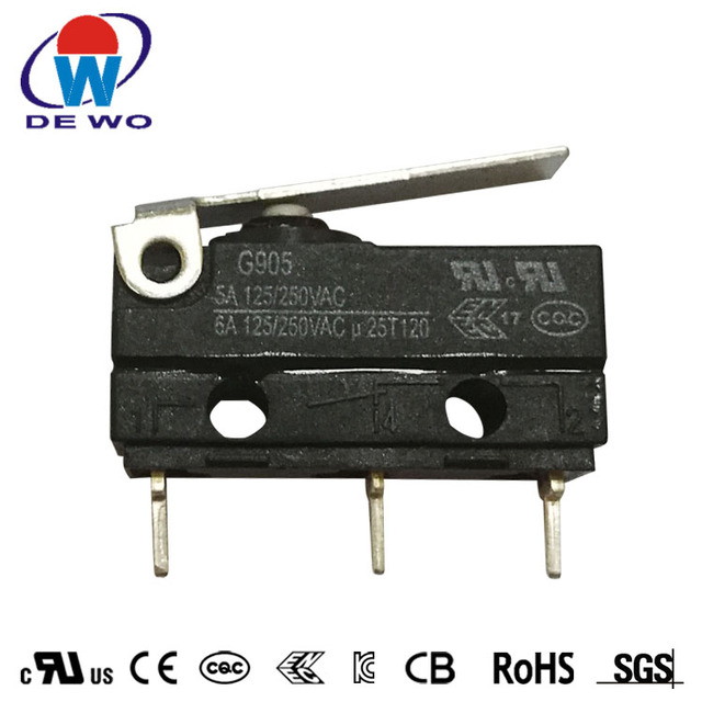 IP65 micro switch waterproof 5a 250v t85