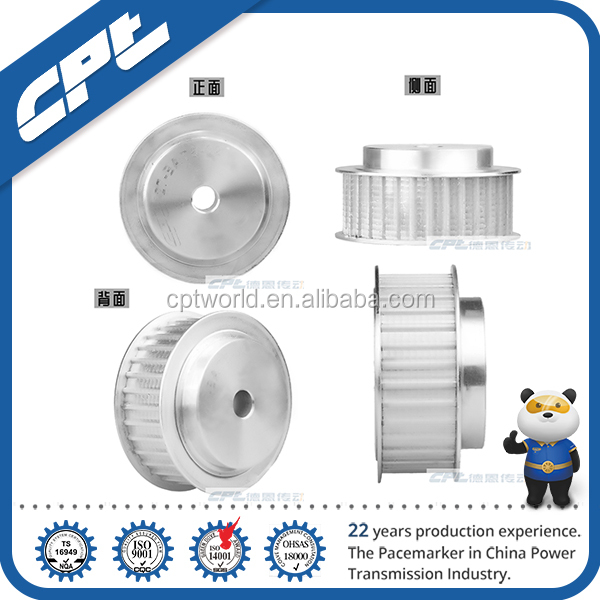 cpt gt2 aluminium timing pulley 20 teeth 5mm 8mm bore