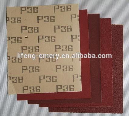 dry and wet abrasive paper of ISO9001 Standard