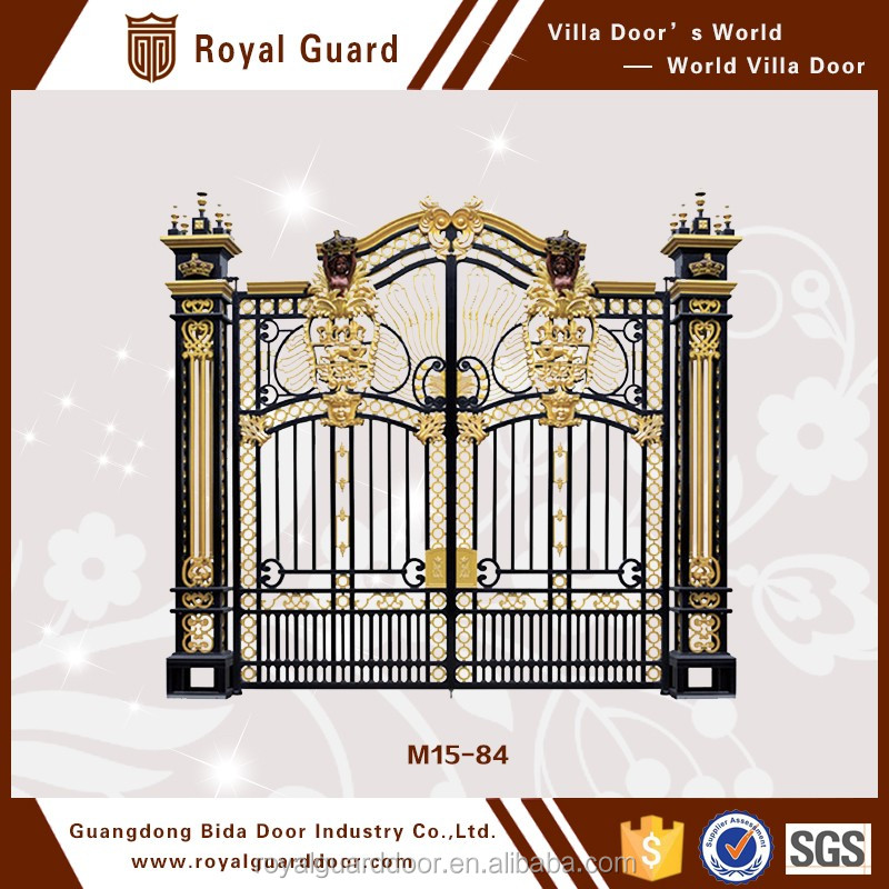 Luxury sliding gate designs/outdoor gate with competitive price