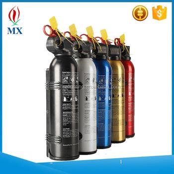 500ml 1000ml Mini Car Foam Fire Extinguisher/safety Foam Fire Stop 1000 Ml  Auto Fire Extinguisher - Buy 500ml 1000ml Mini Car Foam Fire