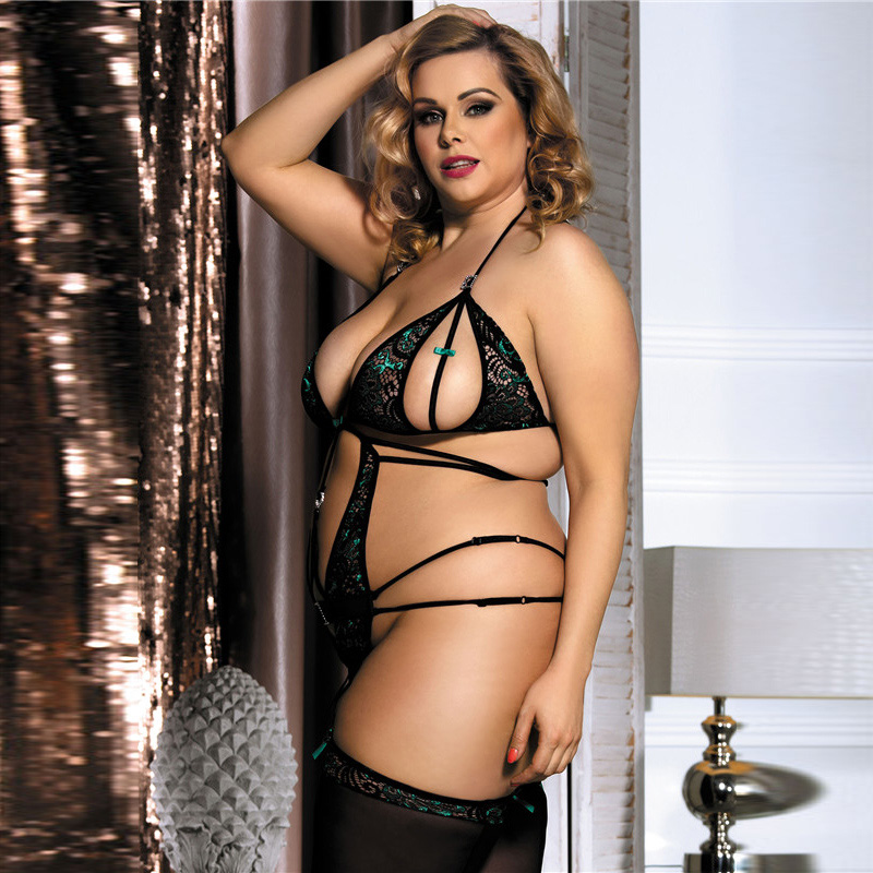 Houswives hot lingerie plus sexy size womens stern shock the