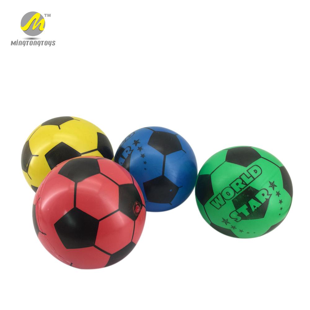 4d2939f88 Personaliza logotipo promoção barato promocional de borracha praia inflável  pvc bola de futebol da copa do