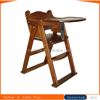 Modern High Quality Baby Wooden High Chair