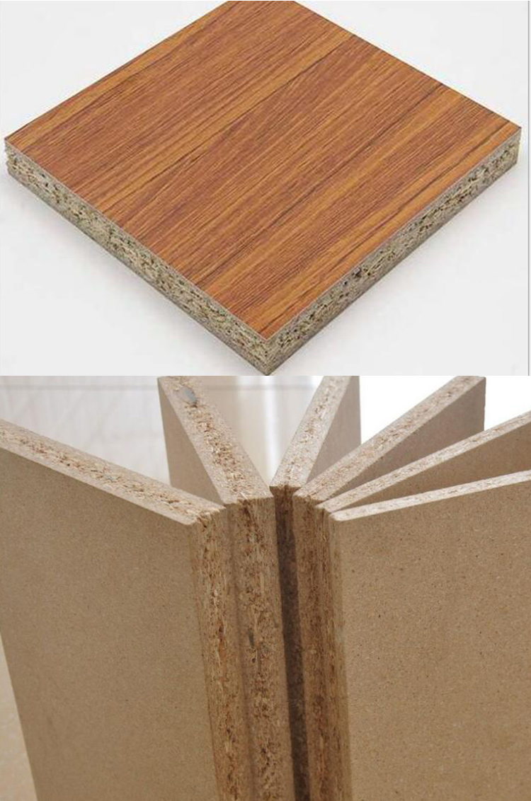Bamboo Perforated Particle Board Ceiling Tile Laminated Particle