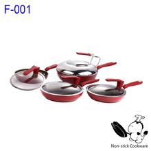 8-Piece Products Forged Parini Cookware Aluminium Wok Cookware Set