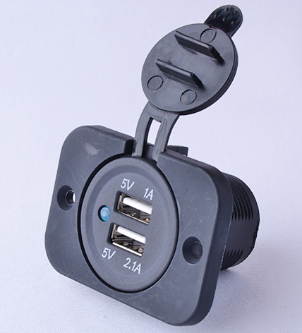 USB socket extention 2 outlet power strip CE approved