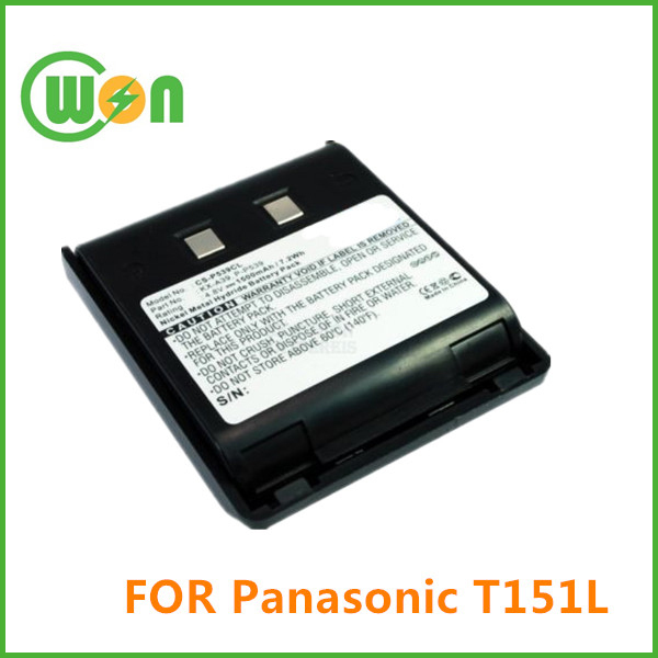 Replacement Battery for Panasonic T151L KX-T9000 KX-T9050BH KX-9050H Cordless Phone Battery
