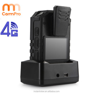 32GB Night Vision Infrared 4G Police Body Camera support wifi Wireless Connection